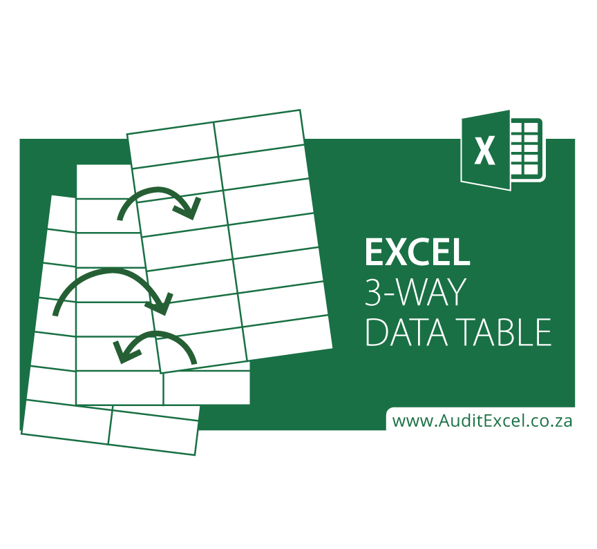 Excel 3 Way Data Table Template Online Excel Trainingditexcel