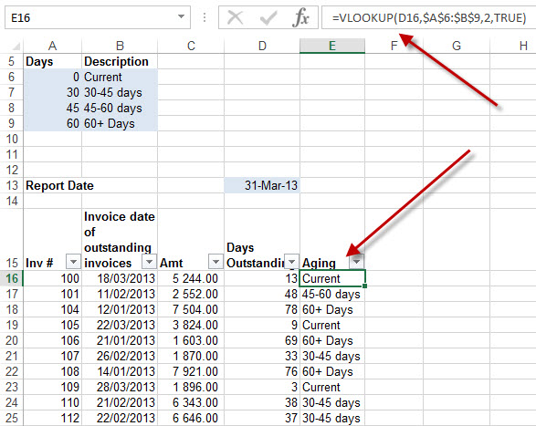 excel pivot table how to create age 10-20