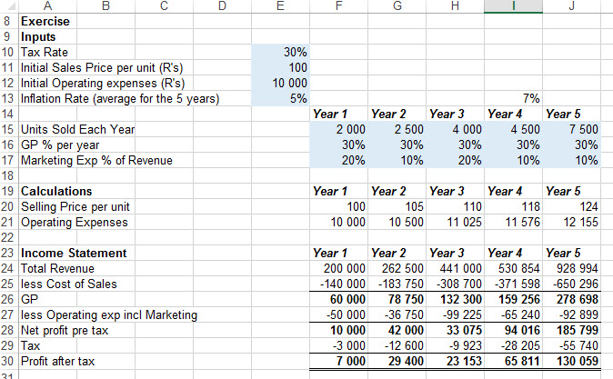 Finding inconsistent formula in an Excel Spreadsheet