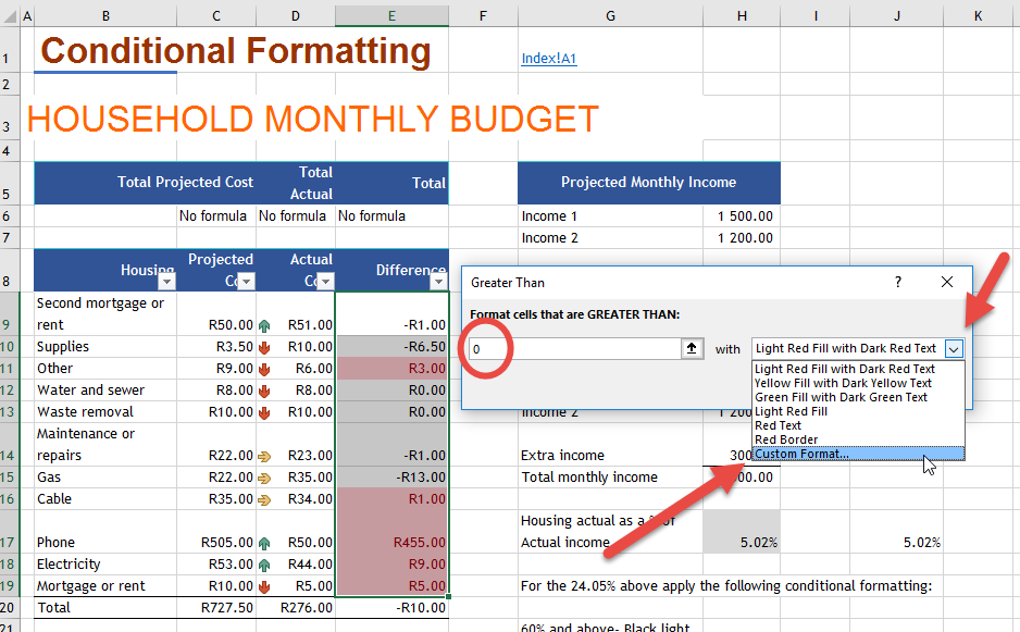 Conditional Formatting Online Excel Training Auditexcel