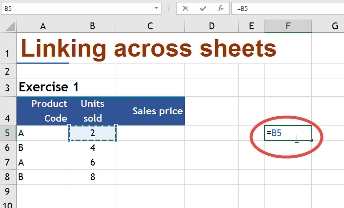 Linking Cells Sheets and workbooks