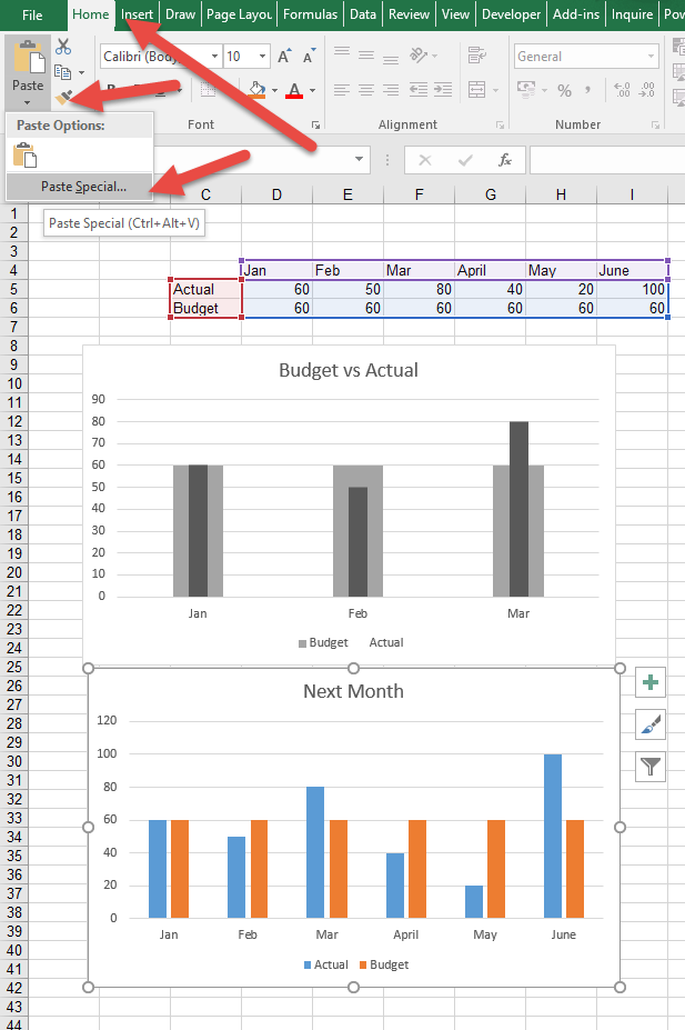 Format Painter for Charts