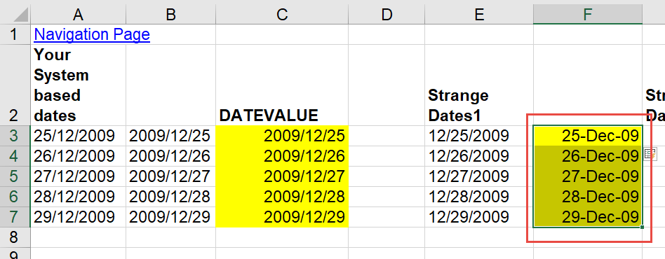 Dates Convert Flash