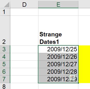 Dates Convert T2C