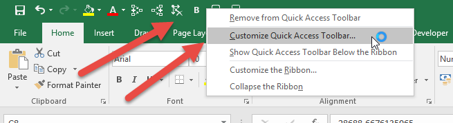 Excel text to speech