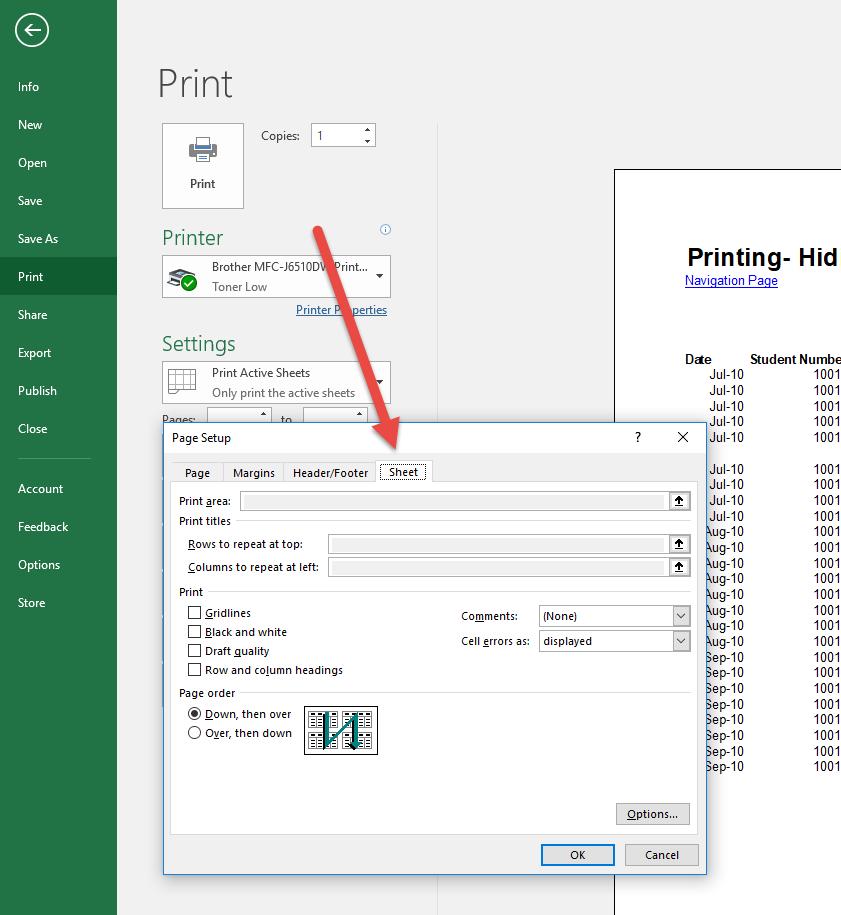 Printing Tricks