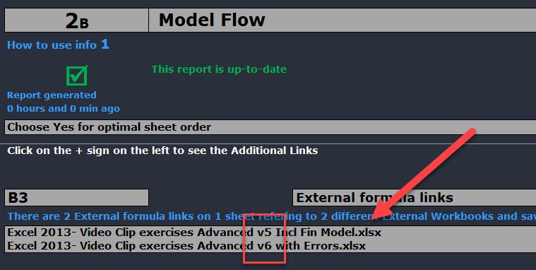 external links errors