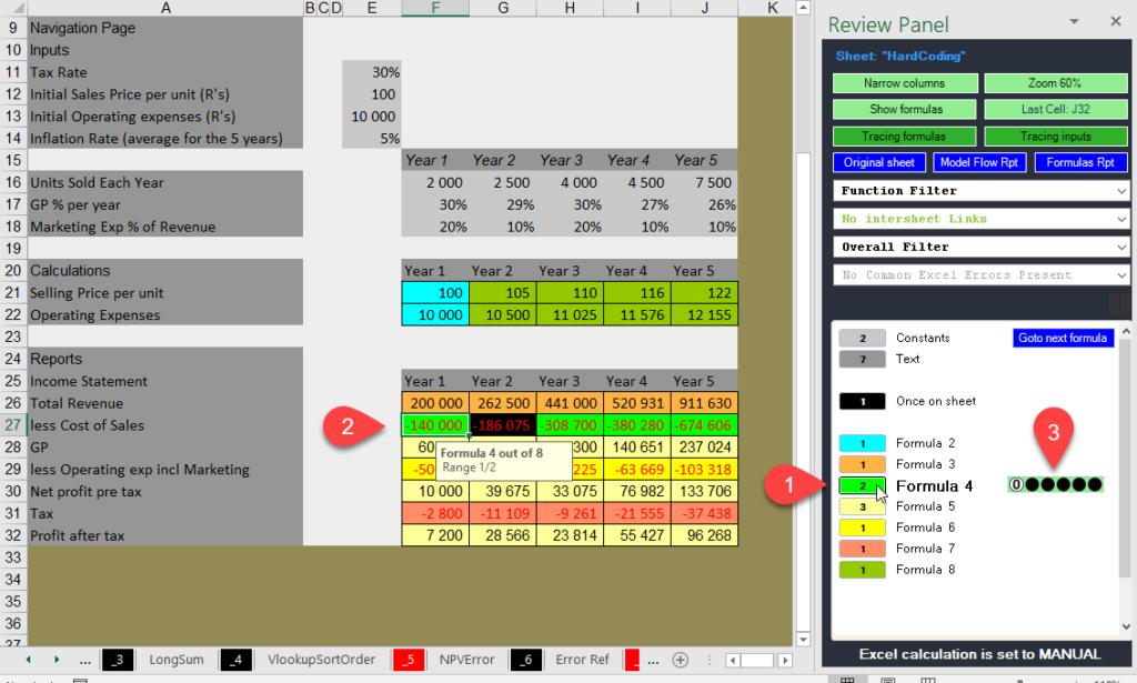 ExcelAnalyzer sheet analysis